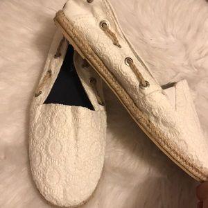 Cream Nautica shoes